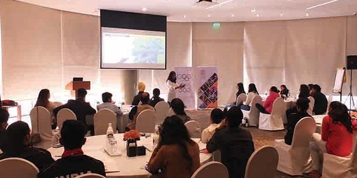 IOC Athlete Career Programme Workshop in New Delhi