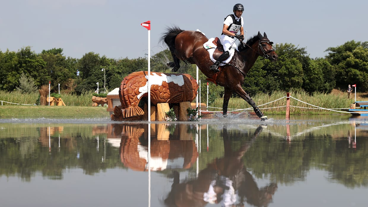 Equestrian Fouaad Mirza drops down after cross country round of Tokyo Olympics eventing