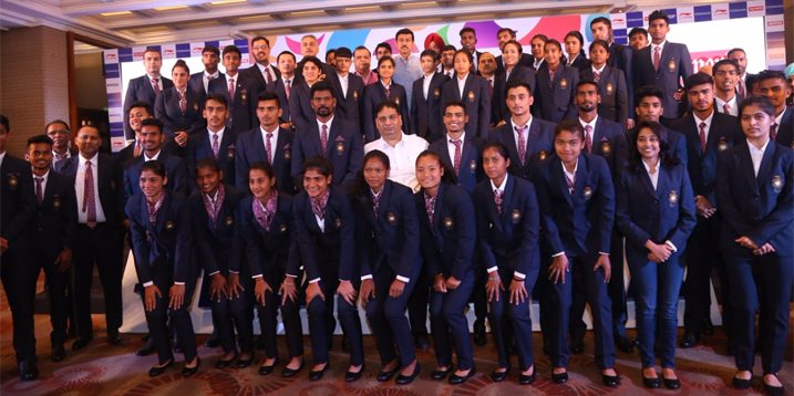 Young Team India departs for the 3rd Summer Youth Olympic Games Buenos Aires 2018